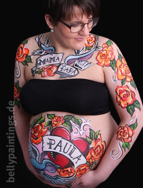 Babybauch Tattoo