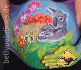 Bellypainting Australia