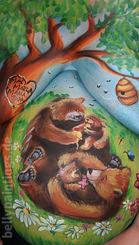 Bellypainting Bears