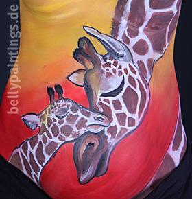 Babybauchbemalung Bellypainting Bauchbemalung Bildergalerie Fotos